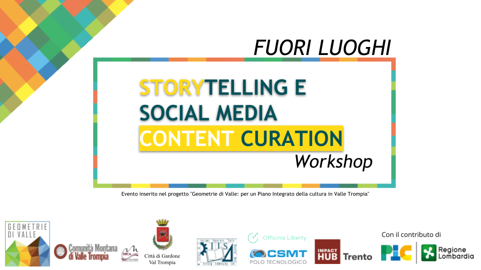FUORI LUOGHI: storytelling e social media content curation
